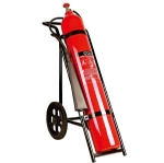 Trolley CO2 fire extinguisher